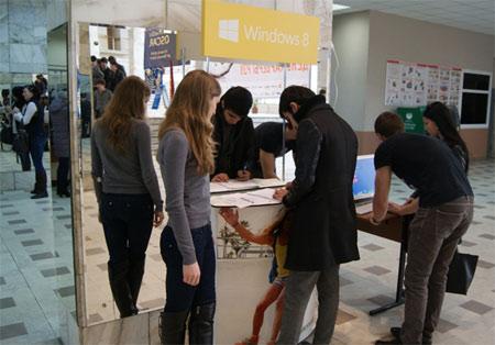 Компания iRU совместно с Microsoft провела демо-дни в крупнейших ВУЗах страны-