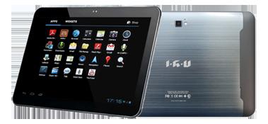 Планшет IRU P1001G – на волне передовых технологий