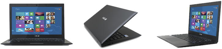 Компактный ноутбук IRU 13.3
