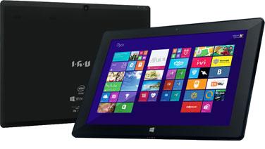 Топовые модели планшетов IRU 10.1' на базе процессора Intel Bay Trail-T (Z3740D) и Windows 8.1
