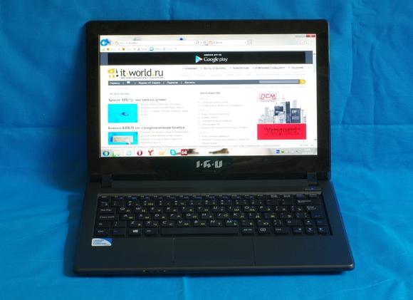 Компактный и недорогой ноутбук IRU Jet 1101 для повседневных задач